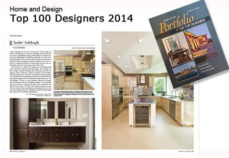 2014 - Home & Design Top 100 Designers